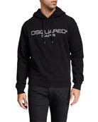 Dsquared2 Men's Logo-Front Cool-Fit Pullover Hoodie