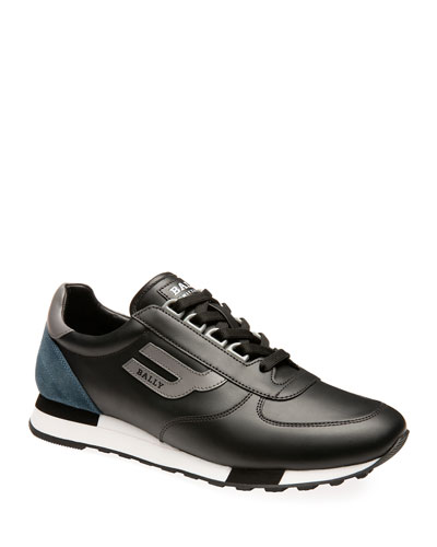 Men's Gavino Leather Runner Sneakers