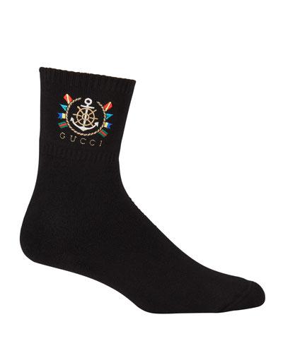 Men's Logo Graphic Tube Socks