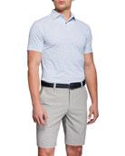 Peter Millar Men's Open Wheel Stretch-Jersey Polo Shirt