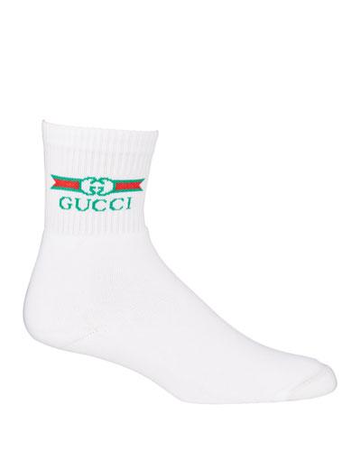 Men's Logo Label Tube Socks