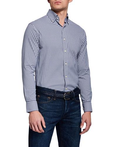 Men's Craft Woven Gingham Sport Shirt