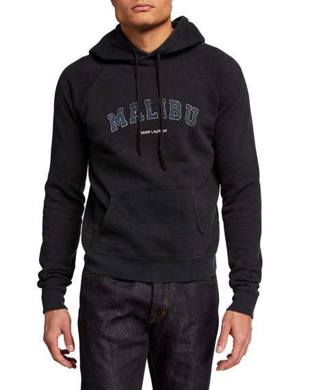Saint Laurent Men's Malibu Hoodie Sweatshirt