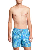 Derek Rose Men's Tropez 7 Classic Geometric-Print Swim