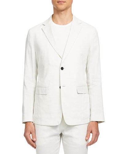 Men's Clinton Eco-Crunch Two-Button Jacket