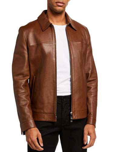 Men's Roscoe Plover Leather Jacket