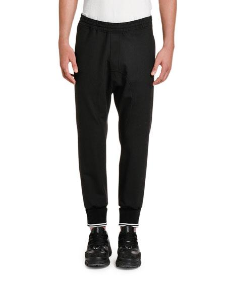 Neil Barrett Men's Drop-Crotch Jogger Pants