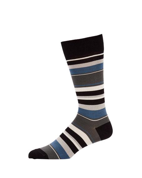 Paul Smith Men's Ravioli Striped Socks