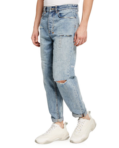 Men's Bullet Skream Trashed Relaxed Jeans