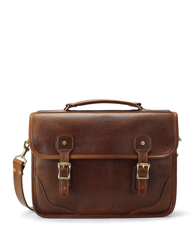 Men's Charles Leather Messenger Bag