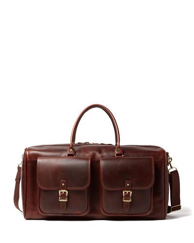 Men's Editor Full-Grain Leather Duffel Bag