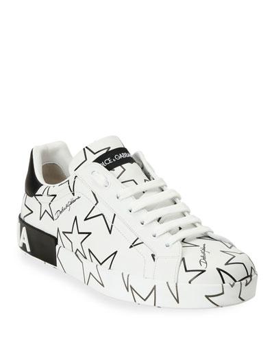 Men's Millennials Star Portofino Two-Tone Graphic Sneakers