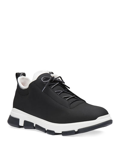 Men's City Hiker Leather Trainer Sneakers