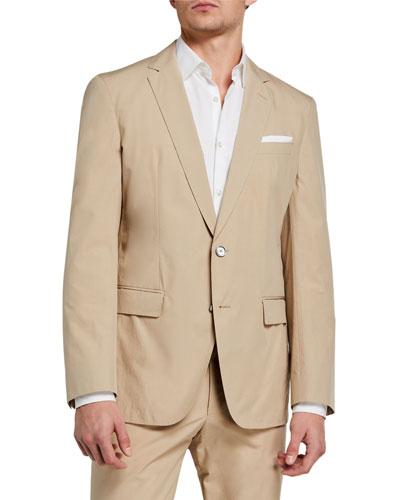 Men's Unlined Slim-Fit Jacket