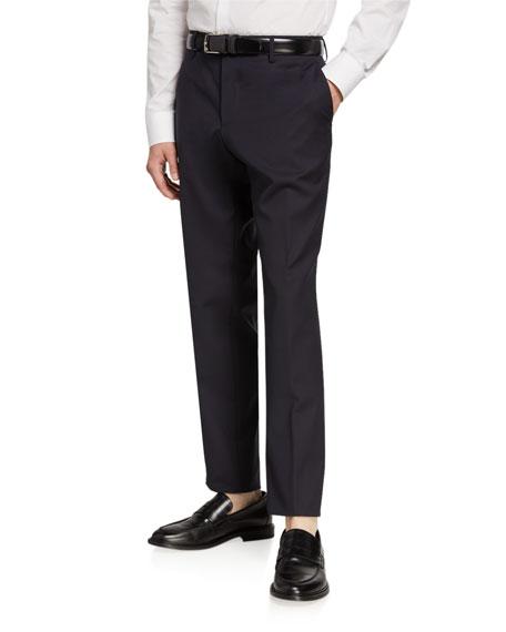 BOSS Men's Slim-Fit Washable Suiting Pants