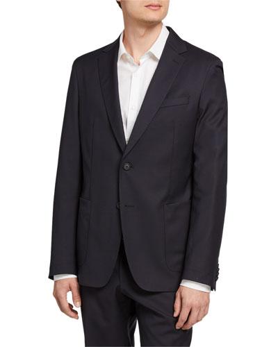 Men's Slim-Fit Patch-Pocket Jacket