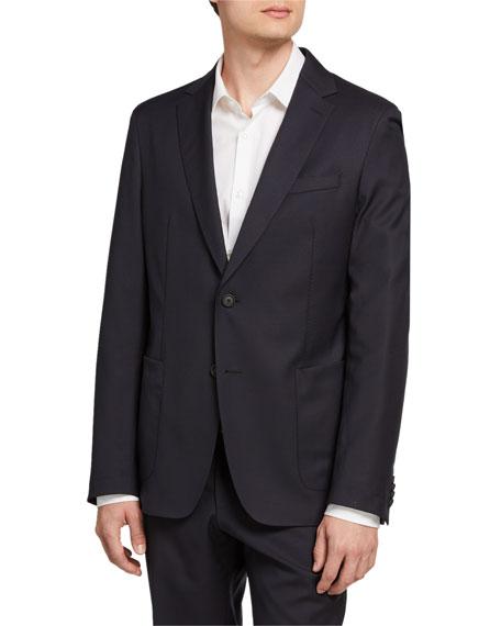 BOSS Men's Slim-Fit Patch-Pocket Jacket