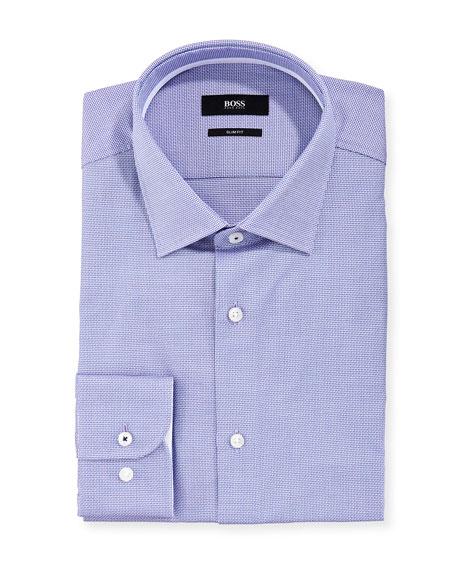 BOSS Men's Micro-Textured Dress Shirt