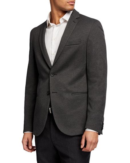 BOSS Men's Solid Jersey Sport Coat