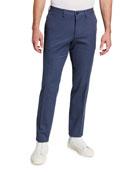 BOSS Men's Slim-Fit Stretch-Cotton Pants