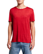 Derek Rose Men's Jordan Lightweight Linen T-Shirt
