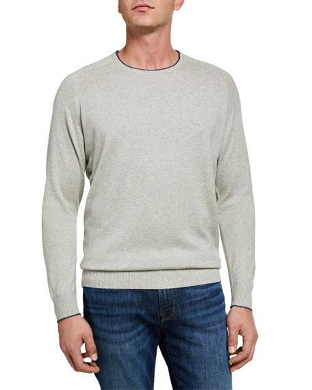 Rodd & Gunn Men's Esk Valley Contrast-Collar Sweater