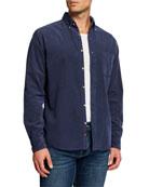 Faherty Men's Corduroy Button-Front Sport Shirt
