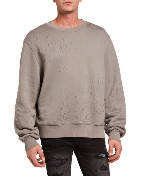 Amiri Men's Shotgun Crewneck Sweatshirt