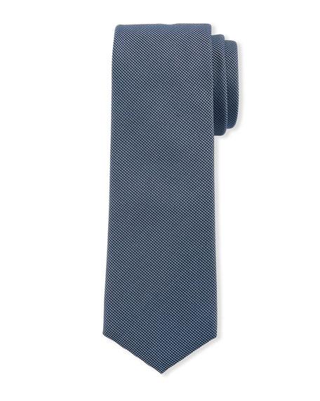 BOSS Men's Micro Travel Silk Tie