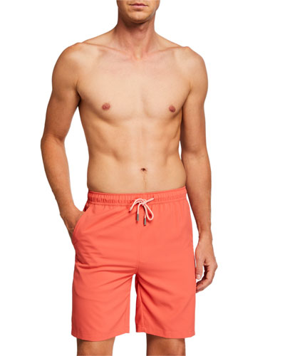 Polyester Winter Night Pattern Beachwear with Pockets Mens Athletic Beach Shorts