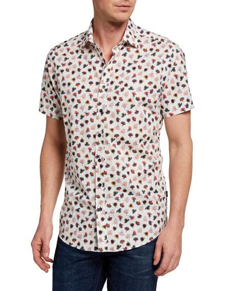 Rodd & Gunn Men's Foxhill Floral-Print Sport Shirt
