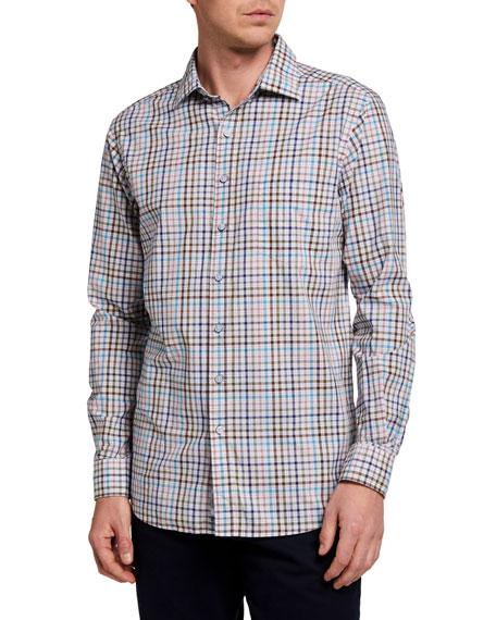 Rodd & Gunn Men's Claverley Multicolor Check Sport Shirt