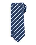 BOSS Men's Diagonal Stripe Silk-Blend Tie