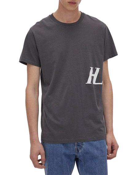Helmut Lang Men's Monogram Short-Sleeve T-Shirt