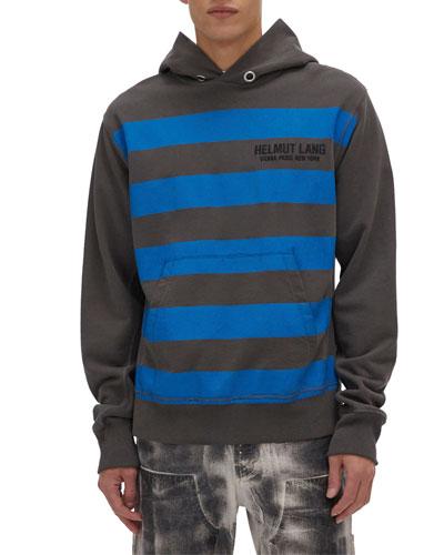 Men's Bars Standard Pullover Hoodie