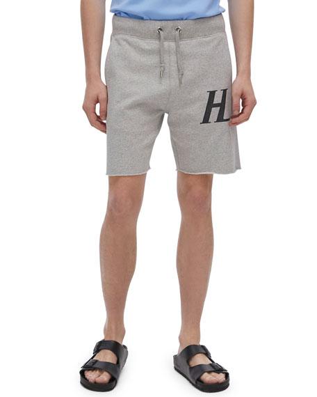 Helmut Lang Men's Monogram Sweat Shorts