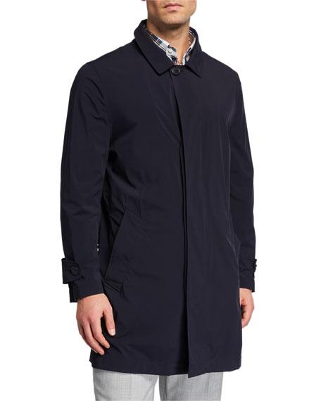 Brunello Cucinelli Men's Packable Trench Coat