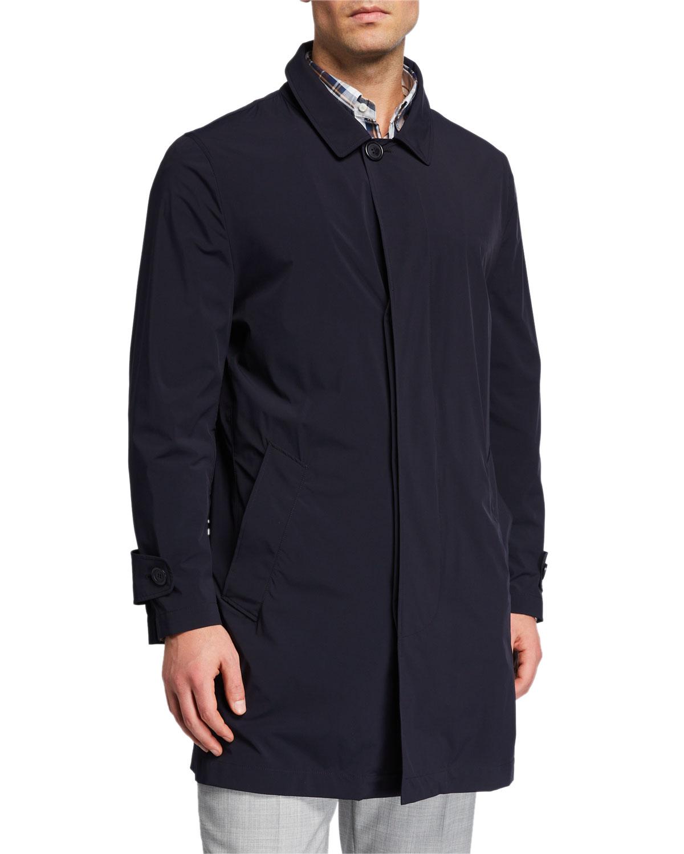 Men's Packable Trench Coat