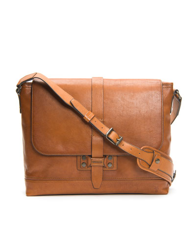 Men's Bowery Leather Messenger Bag