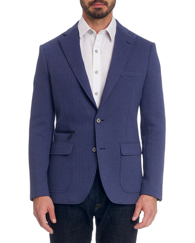 Men's Downhill IV Two-Button Jacket