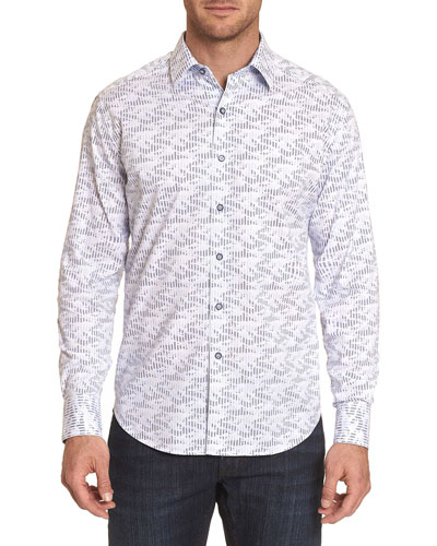 Men's Cahuenga Contrast-Reverse Sport Shirt