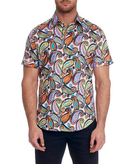 Robert Graham Men's Paisley Park Sport Shirt