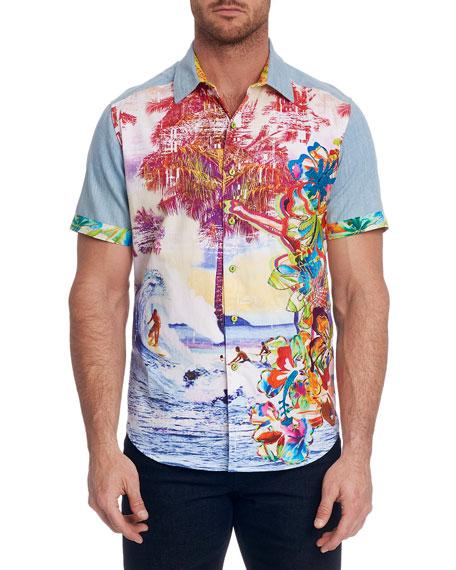 Robert Graham Men's Dawn Patrol Limited Edition Sport Shirt