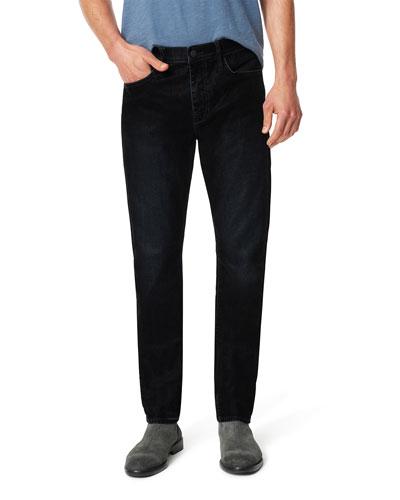 Men's Asher Dark-Wash Stretch Denim Jeans