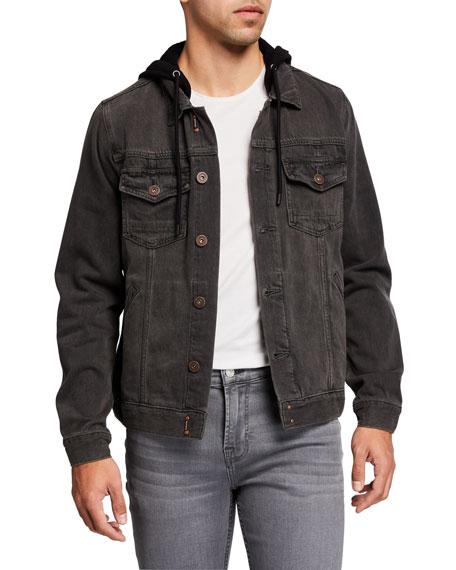 PAIGE Men's Scout Hooded Denim Jacket