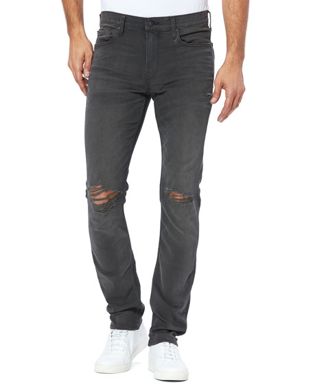 PAIGE Men's Lennox Skinny Jeans in TRANSCEND Denim