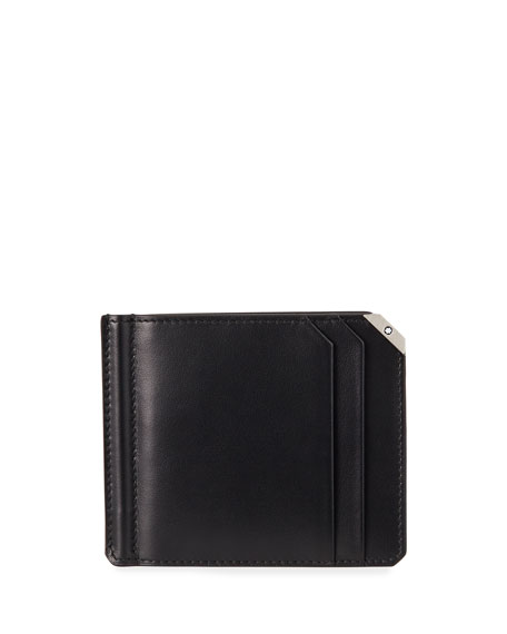 Montblanc Men's Meisterstuck Urban Leather Wallet w/ Money Clip