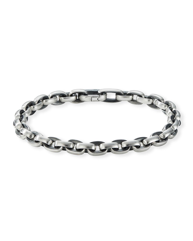 Men's Streamline Sterling Silver Link Bracelet