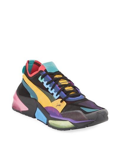 Men's LQDCELL Optic Sheer Colorblock Running Sneakers