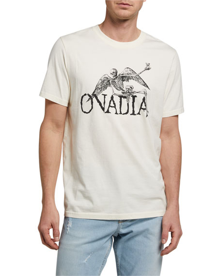 Ovadia Men's Skeleton Wings Short-Sleeve T-Shirt
